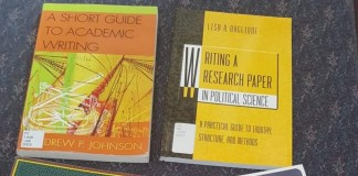 Textbooks from the library