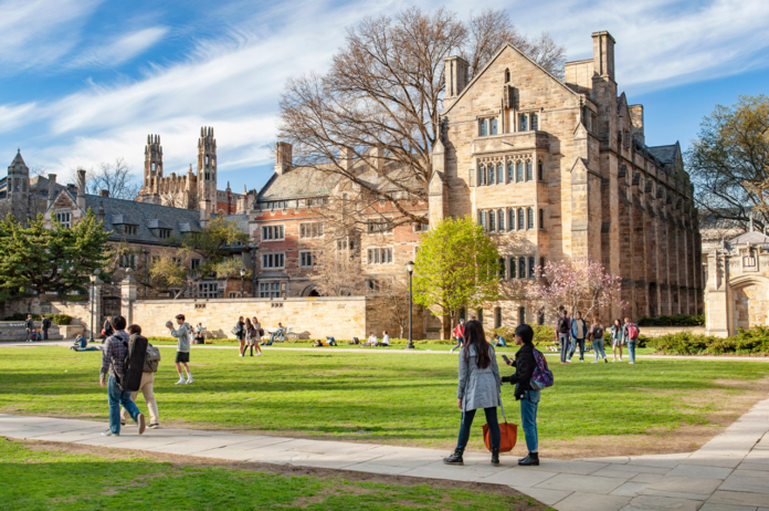 Yale University (Source: https://admissions.yale.edu/)