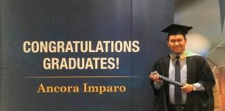 Yogi at Monash University Graduation Ceremony. Source: Personal documentation