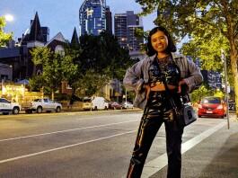 Sharin Yofitasari in Melbourne. Source: Personal documentation