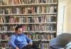 Ahmad Junaidi di Monash University library. Sumber: Dokumentasi pribadi