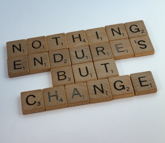 Motivational quote about adapting to changes
