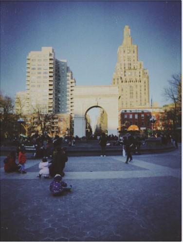 Washington Square Park pre-pandemic