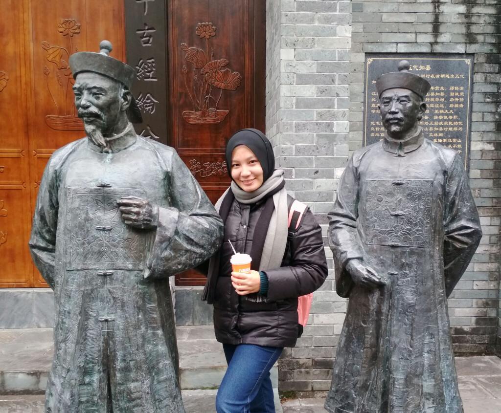 Nisrina Ikbar, penerima beasiswa LPDP ke Monash University, Australia. Sumber: Dokumentasi pribadi