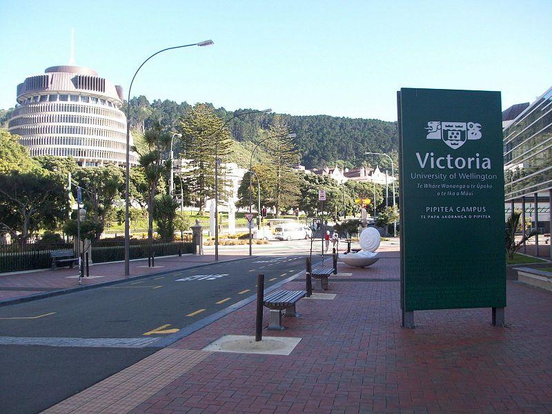 Victoria University of Wellington. Source: Nelson Perez at Wikimedia Commons