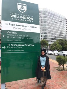 Yuri on her graduation day at University of Wellington, December 2020. Source: Personal documentation