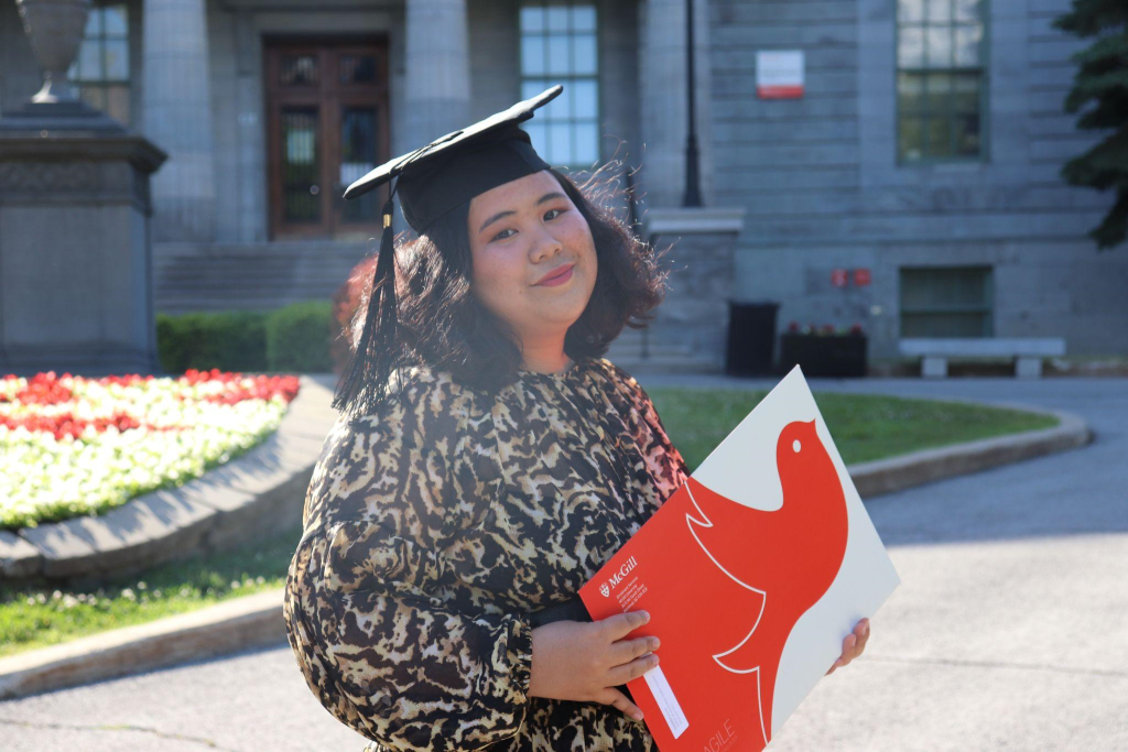 I did a graduation photoshoot with a friend. Finally got my masters' degree!
