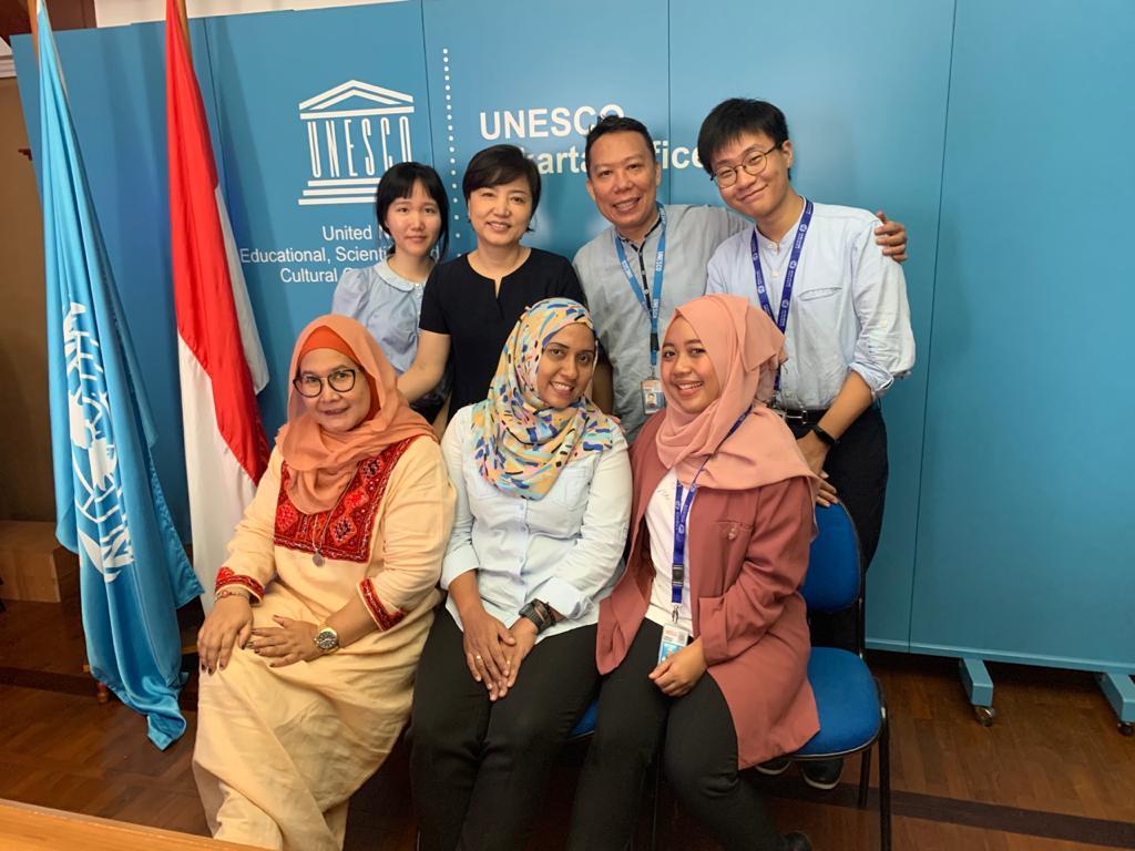 Tim Education Unit, UNESCO Jakarta (2019). Sumber: Dokumentasi Pribadi