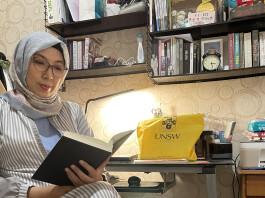 Sari Puspita Dewi mahasiswa PhD in Translation Studies di UNSW Sydney, Australia. Sumber: Dokumentasi pribadi